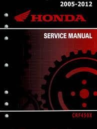 manual de taller crf 450 x 2005 2012 exhaust gas engines