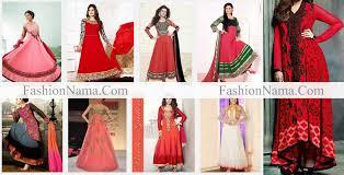 dress design umbrella red suits anarkali umbrella frock dress designs 2015