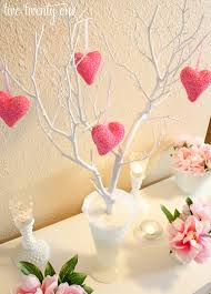 Table Decoration For Valentine S Day by Valentine U0027s Day Vignette