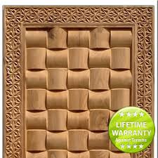 teak doors carving designs 4106