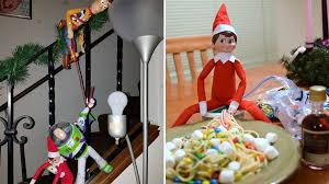 Buddy The Elf Christmas Decorations Creative Elf On The Shelf Display Ideas Today Com