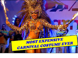 carnival brazil costumes most expensive costume crafted costume used by 2014