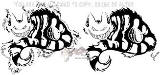 cheshire cat tribal masculine versions by arixona on deviantart