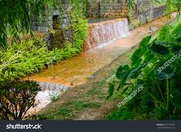 natural swimming pools furnas sao stock photo 213775354