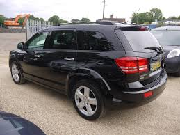 used 2010 dodge journey 2 0 crd rt suv in black with black leather
