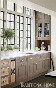 Painted Kitchens Cabinets Taupe Beige Painted Kitchen Cabinets Cabinet Colors Pinterest