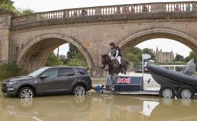 land rover track usea burton on track for first land rover burghley title three