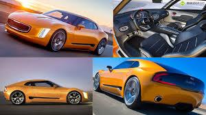 kia supercar kia gt4 stinger concept