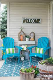 Front Porch Decor Ideas Small Porch Ideas Reveal Small Porches Porch And Decorating
