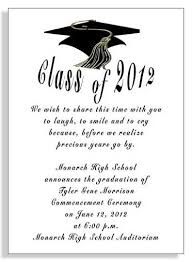 commencement announcements graduation announcements wording sles graduation commencement