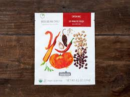 created to savor trademark of small planet foods inc red bean chili patagonia provisions