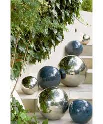 stainless steel sphere for garden uk