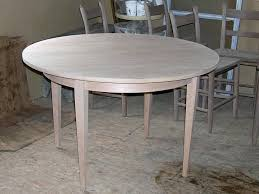 Unfinished Bistro Table Unfinished Kitchen Table New Makushina For 3