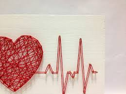 Decorative Hearts For The Home Best 25 String Heart Ideas On Pinterest Art Yarn Pin Art And