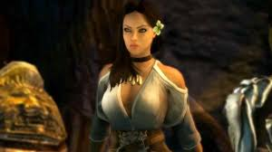 dungeon siege 3 rajani gunslinger katarina joins lucas cause dungeon siege 3