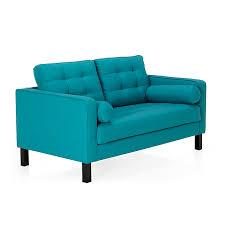 canape turquoise canapé 2 places fixe coloris turquoise elvis canapes tous les