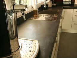 beton ciré pour plan de travail cuisine plan de travail en béton exemples de réalisations en photo