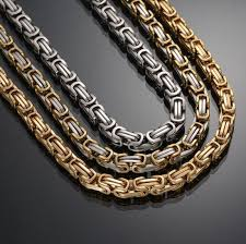 gold chain necklace wholesale images China wholesale handmade 14k gold byzantine chains necklace jpg