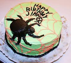 Spider Cakes For Halloween Feeding Frenzy Spider Cake