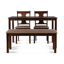 4 seater dining table with bench buy artois 4 seater dining set online in india ho340fu01xhyhtfur