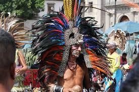 imagenes penachos aztecas danzante azteca jorge chincoya