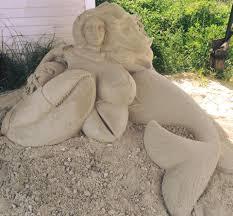Cape Cod Classified Ads Sand Sculpture Of Busty Cape Cod Mermaid Draws Complaints
