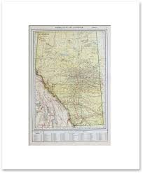 Canada Provinces Map by Canadian Provinces And Territories Vintage Maps