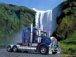 kenworth 18 wheeler pickup truck wallpaper wallpapersafari
