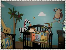 jungle wall decals home decorations ideas image baby nursery jungle wall decals