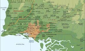 map of karachi a karachi jpg