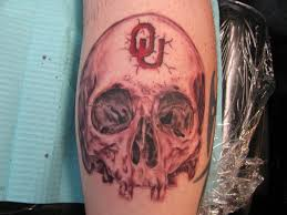 skull in cherry wash ou fan by dannewsome on deviantart