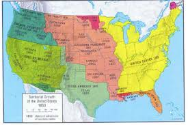 usa map louisiana purchase westward expansion map of the usa map land areas and the