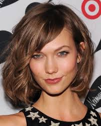 tag straight medium length hairstyles with side bangs hairstyle
