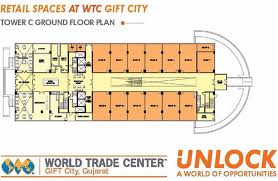 retail space floor plan wtc retail spaces shops at world trade center gift city gujarat