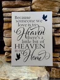 personalized in loving memory gifts loss of a loved one personalized painted wood sign in