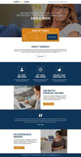 Web Design Jobs From Home by 44 Best Work From Home Landing Page Images On Pinterest Landing