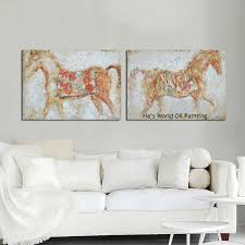 Horse Decor For Home by Online Get Cheap Best Horse Paintings Aliexpress Com Alibaba Group