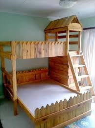 Best  Pallet Bunk Beds Ideas On Pinterest Bunk Bed Mattress - Kids wooden bunk beds
