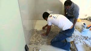 shower floor pebble stone time lapse youtube