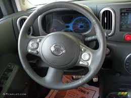 2010 nissan cube interior 2010 nissan cube krom edition black gray steering wheel photo