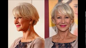 short haircuts for women over 60 with glasses youtube
