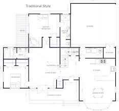 smartdraw floor plan design your ownse plans for free freedesign