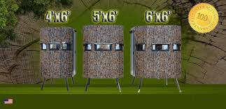 Ground Blind Plans Ranch King Blinds