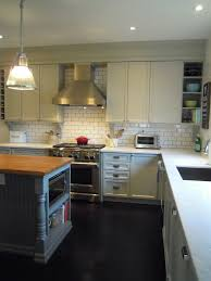 white wood finally our completed kitchen from builder basic to