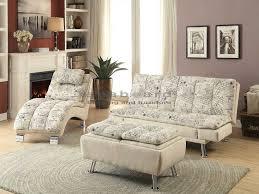 coaster 300421 kay french script pillow top sofa bed futon