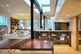 modern penthouses nyc simple the kitchen of this tribeca