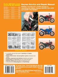 honda cbr125r 04 10 haynes repair manual haynes publishing