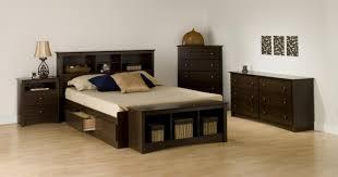 bedroom wonderful prepac berkshire black queen platform storage