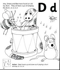 coloring pages worksheets phonics coloring pages worksheet letter d worksheets preschool free