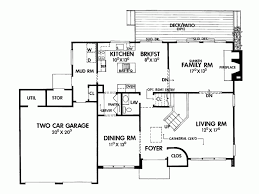 modern two house plans modern 2 house floor plans